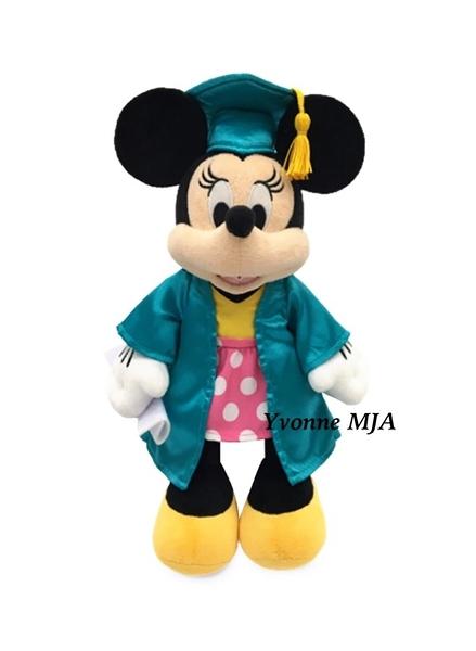 *Yvonne MJA* 美國迪士尼 Disney 限定正品 minnie 米妮 2021年 畢業毛絨娃娃