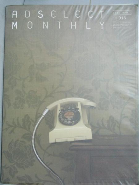 【書寶二手書T6/廣告_ET9】AD SELECT MONTHLY - 16_2010/03