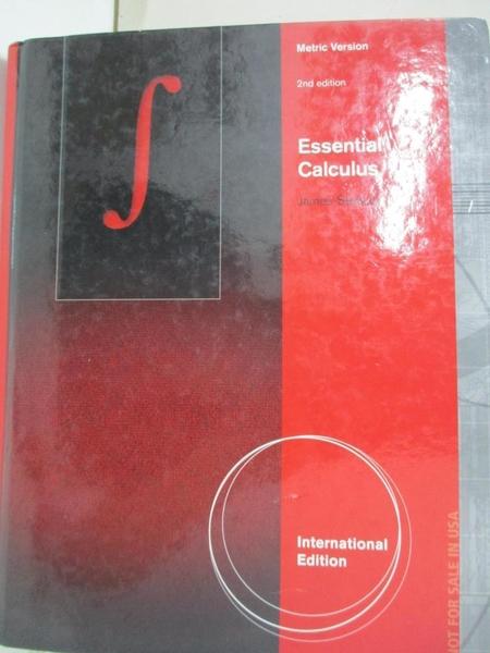 【書寶二手書T1/大學商學_EXS】Essential Calculus, International Metric Edition2/e
