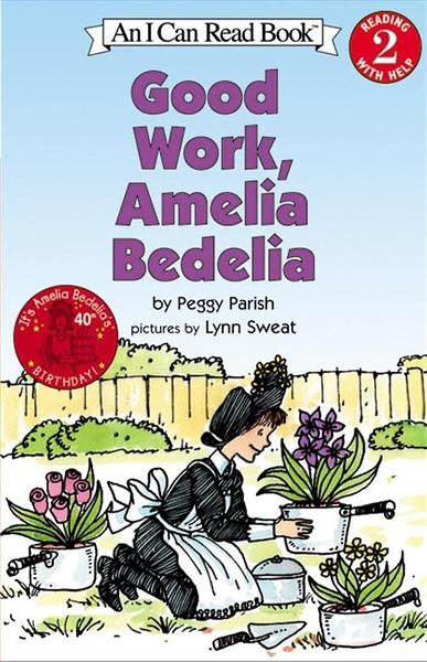 (二手書)An I Can Read Book Level 2: Good Work, Amelia Bedelia