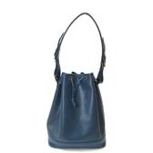 LV 藍色EPI水波紋肩背包 大水桶包 【二手名牌BRAND OFF】