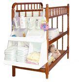 交換禮物-嬰兒床頭大號掛袋架新生兒尿布雜物收納架初生寶寶用品整理架wy
