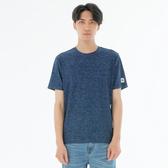 BigTrain陽離子吸濕排汗短袖T恤上衣-男-丈青/黑-B80727