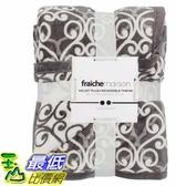 [COSCO代購] W124904 Fraiche Maison 柔暖雙面毯 152 x 177 公分 400GSM