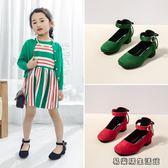 春季韓版女童單鞋高跟公主鞋