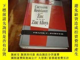 二手書博民逛書店CORROSION罕見RESISTANCE OF ZINC AN