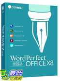 [106美國直購] 2017美國暢銷軟體 Corel WordPerfect Office X8 Home Student