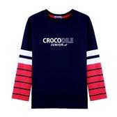 『小鱷魚童裝』薄款全棉T恤(08號~18號)532422