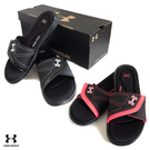 (特價) UA UNDER ARMOUR Sandal系列 Ignite VII 拖鞋1253450-001黑色 魔鬼氈休閒運動拖鞋