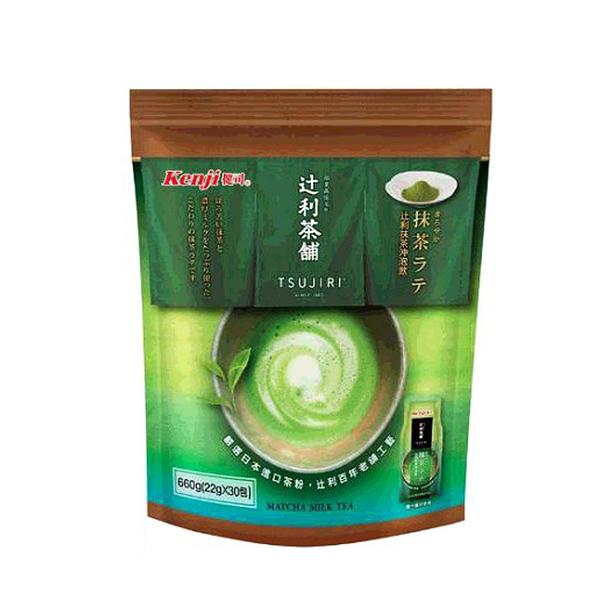 [COSCO代購] W126215 健司辻利抹茶奶茶沖泡飲 22公克 X 30包