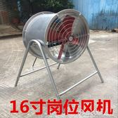16寸崗位式軸流風機工業排氣扇排風扇立式強力抽風機落地風扇igo    西城故事