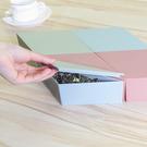 創意立體式糖果盒(三角形) 可拼接 帶蓋 零食 乾果盤 三角 桌面收納盒【N446】生活家精品