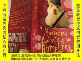二手書博民逛書店my罕見ster ies according to humpheey 根據漢弗萊的說法Y200392