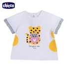 chicco-斑斑動物-造型印圖短袖上衣