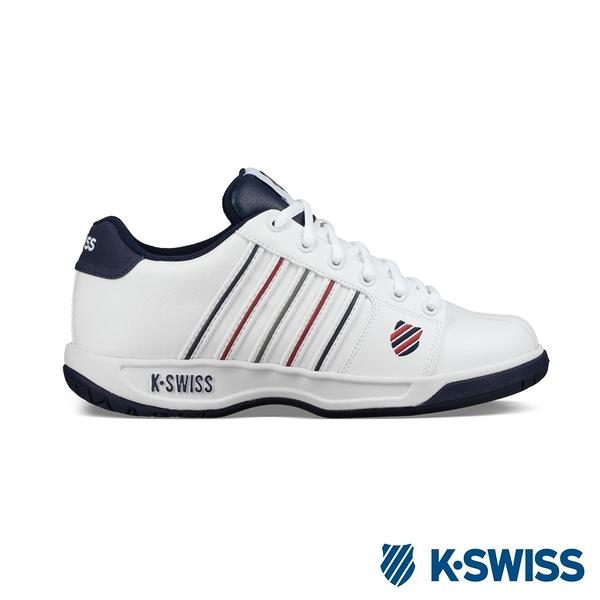 K-SWISS Eadall時尚運動鞋-女-白/藍/紅