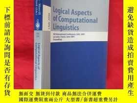 二手書博民逛書店Logical罕見aspects of computational linguistics (小16開) 【詳見圖