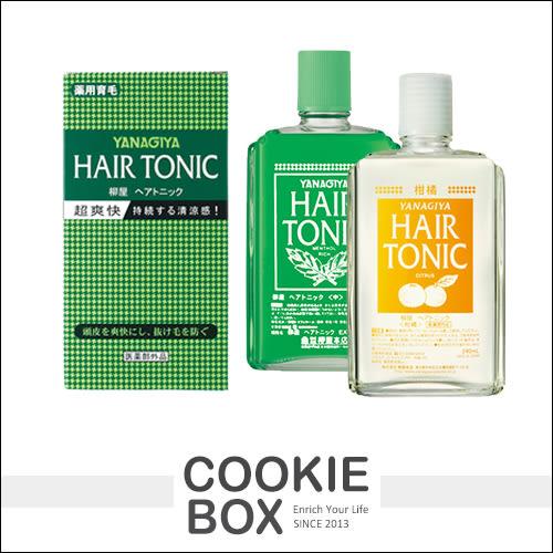 日本 柳屋本店 髮根 養髮液 青草 柑橘 頭髮 清涼 無油膩 滋養 保養 240ml *餅乾盒子*