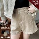 LULUS【A04200259】K自訂款斜紋短褲S-XL3色