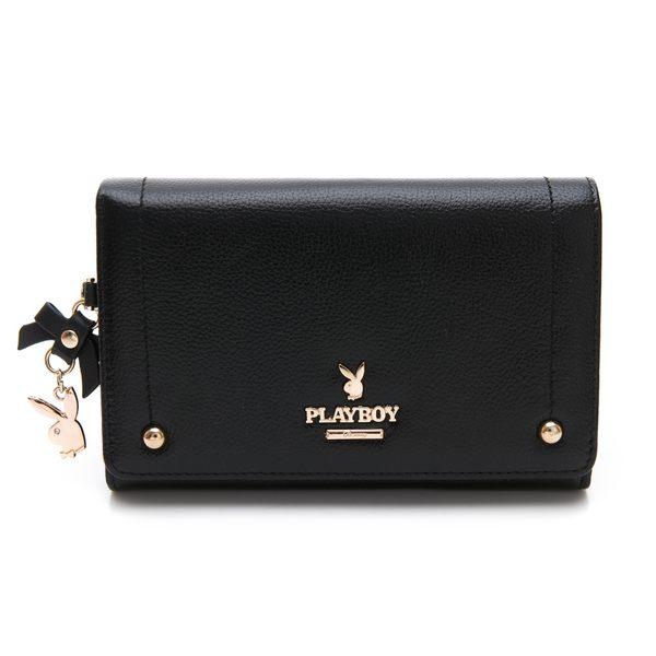 PLAYBOY- 中夾 星鑽系列 -黑色