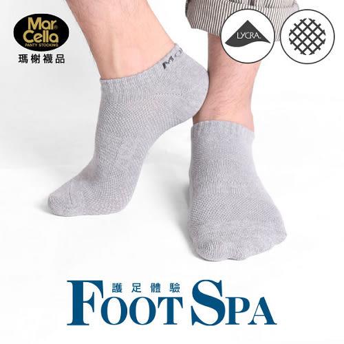 瑪榭 萊卡透氣船襪l-丈/黑/鐵灰(25~27cm)【愛買】