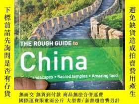 二手書博民逛書店The罕見Rough Guide to China [平裝]Y1