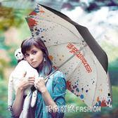 創意黑膠遮陽傘防紫外線太陽傘時尚女防曬小黑傘晴雨傘兩用  時尚潮流
