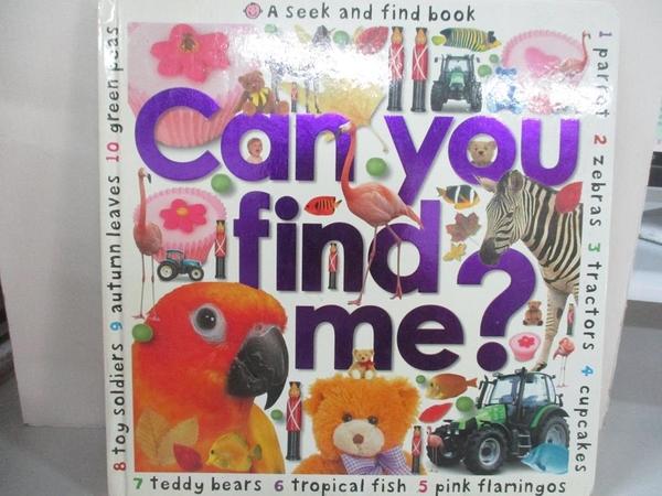 【書寶二手書T1/少年童書_KC7】Seek and Find Book: Can You Find Me?_Roger Priddy