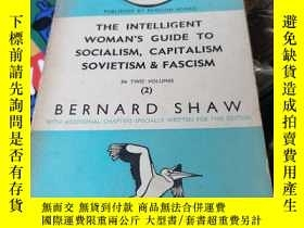 二手書博民逛書店the罕見intelligent woman s guide to socialism,capitalism so