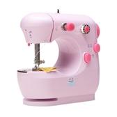 家毅301縫紉機家用電動迷你多功能小型手動吃厚縫紉機微型衣車   ATF   魔法鞋櫃