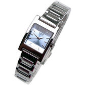 LTP-1283D-2A CASIO卡西歐 方型 不銹鋼 淺藍色面 20mm 女錶 時間玩家 防水手錶 LTP-1283D-2ADF