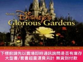 二手書博民逛書店Disney s罕見Glorious Gardens迪士尼絢麗花園,英文原版Y449990 Kevin Mar