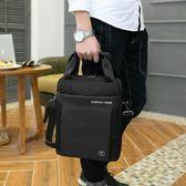 瑞士軍刀單肩斜挎包男士商務公文包手提包12寸A4電腦包背包