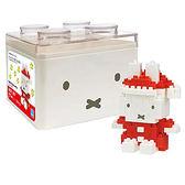 《 Nano Block 迷你積木 》NBCC-067 米菲兔 聖誕老人╭★ JOYBUS玩具百貨