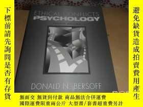 二手書博民逛書店Ethical罕見Conflicts in Psychology