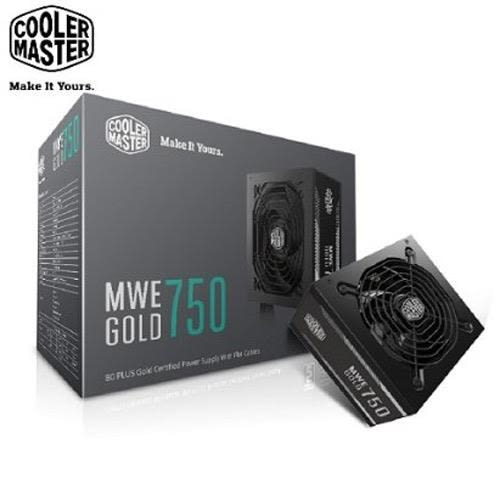 Cooler Master MWE 80Plus金牌 750W 電源供應器