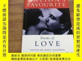 二手書博民逛書店英文原版罕見The Nations Favourite Poems( D88)Y266787 Griff Rh