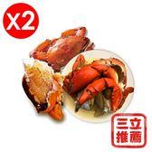 【微晶冷凍】野生鮮凍沙公蟹(小組)-電電購