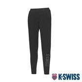 K-SWISS HS Pants韓版運動長褲-女-黑