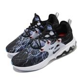 【四折特賣】Nike 休閒鞋 React Presto PRM 黑 白 藍 男鞋 閃電圖騰 魚骨鞋 運動鞋 【ACS】 AV2605-006