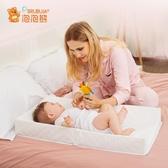 三邊尿布台兒童護理台床上按摩撫觸新生兒操作台床中床WY 快速出貨