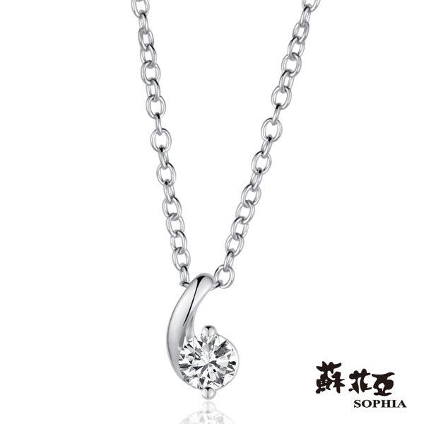 小寶貝0.15克拉FVS2鑽石項鍊