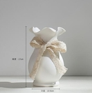 花瓶 陶瓷花瓶白色小清新干花滿天星插花現代水培客廳歐式擺件家居裝飾【快速出貨八折搶購】