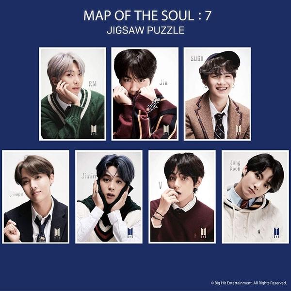BTS防彈少年團 拼圖 MAP OF THE SOUL: 7 V 108片_EP41306