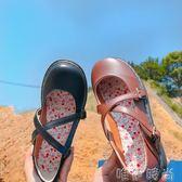 娃娃鞋 韓國ulzzang日繫森女原宿洛麗塔小皮鞋學生圓頭百搭娃娃鞋單鞋潮 唯伊時尚