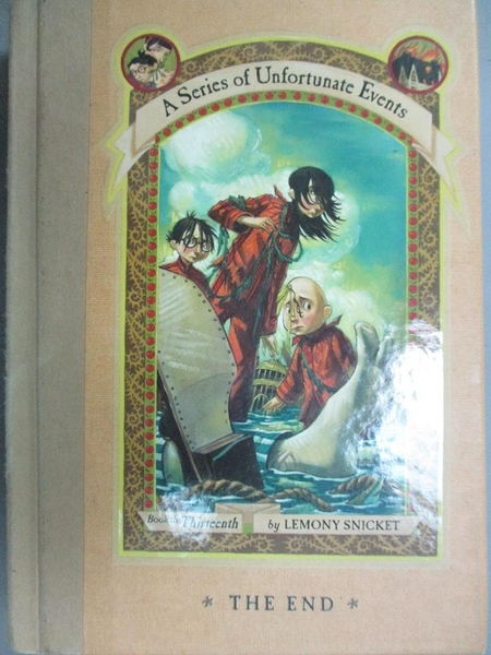 【書寶二手書T5/原文小說_NBX】The End (A Series of Unfortunate Events, B