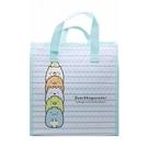 日本 角落生物 San-X 方型不織布保冷便當手提袋-綠(2526) (FBC1) -超級BABY