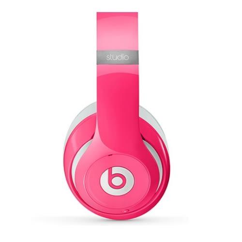 【加贈行李吊牌】Beats New Studio【粉色PINK】 高品質頭戴式耳機 限量色 USB充電 抗噪 內建耳機擴大器