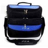 [哈GAME族]免運費 可刷卡●便宜好用推薦●PS4 PS3 藍色主機收納包 外出包 單肩包 大容量收納空間