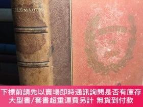 二手書博民逛書店1859年罕見AVENTURES DE TELEMAQUE 法語Y411026 PAR FENELON PAR