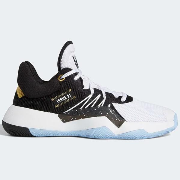 ADIDAS D.O.N. ISSUE 男鞋 籃球 避震 透氣 襪套 蜘蛛人 白 黑【運動世界】 EG5670